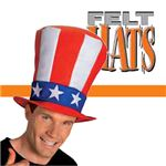 【コスプレ】 RUBIE'S (ルービーズ) Uncle Sam StovePipe Hat 47711 (ハット)