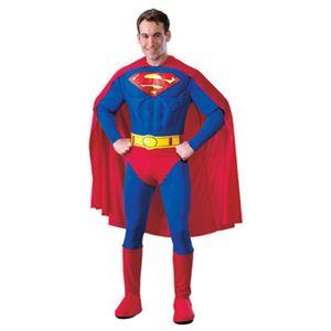 【コスプレ】 RUBIE'S (ルービーズ) 888016M DELUXE MUSCLE CHEST SUPERMAN(スーパーマン) M - 拡大画像