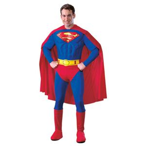 【コスプレ】 RUBIE'S (ルービーズ) 888016L DELUXE MUSCLE CHEST SUPERMAN(スーパーマン) L