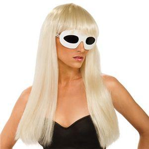 RUBIE'S (ルービーズ) 51550 Lady Gaga Straight Wig with bangs(レディガガ) - 拡大画像