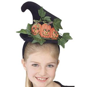 RUBIE'S (ルービーズ) 2147 Pumpkin Witch Hat Headband