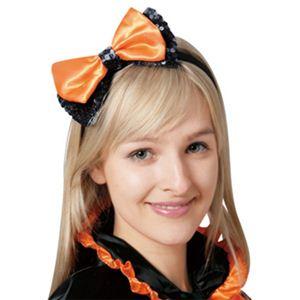 RUBIE'S (ルービーズ) 802278 Orange Ribbon Headband - 拡大画像