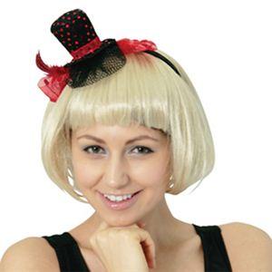 RUBIE'S (ルービーズ) 95117 Red Silk Hat Headband - 拡大画像