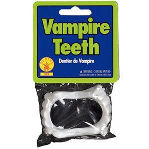 【コスプレ】 RUBIE'S (ルービーズ) 323 Vampire Teeth - 拡大画像