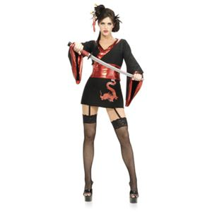 RUBIE'S (ルービーズ) 888518 Std Sexy Samurai - 拡大画像