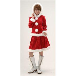 【クリスマスコスプレ】フェアリーフードサンタ - 拡大画像