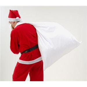 【クリスマスコスプレ 衣装】サンタさんの大きな袋 - 拡大画像