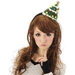 【クリスマスコスプレ】カラフルツリーカチューシャ