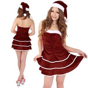 【クリスマスコスプレ】Short-p332A レディースサンタ・ショート332 - 拡大画像