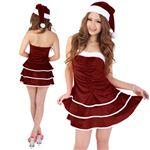 【クリスマスコスプレ】Short-p332A レディースサンタ・ショート332