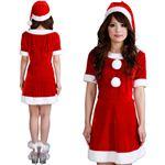 【クリスマスコスプレ】Short-p505A レディースサンタ・ショート 505