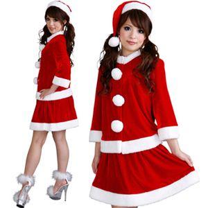 【クリスマスコスプレ】Short-p506A レディースサンタ・ショート 506 - 拡大画像