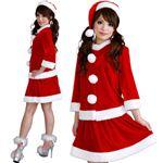 【クリスマスコスプレ】Short-p506A レディースサンタ・ショート 506