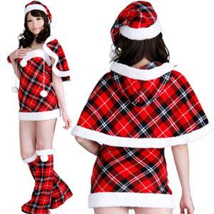 【クリスマスコスプレ】ST-p001D レディースサンタ・ショートの写真2