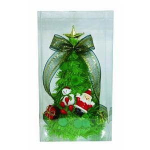 【クリスマス】ミニデコレーションツリー14cm グリーン 15295-DT322 - 拡大画像