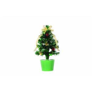 【クリスマス】ファイバーツリー グリーン 30cm 15592-MR876 - 拡大画像