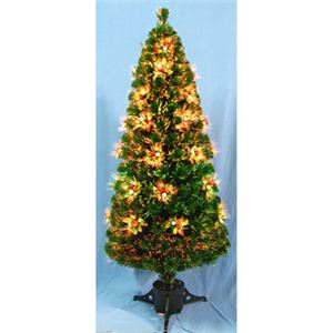 【クリスマス】150cm ファイバークリスマスツリー T338-150 - 拡大画像