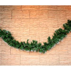 【クリスマス】200cm クリスマスファイバーガーランド(ドアオーナメント/ライトアップ) TT505-200