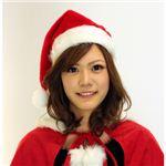 【クリスマスコスプレ】Patymo サンタ帽子 赤 JH001-R