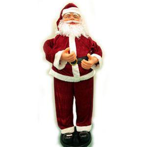 【クリスマス】130cmダンシングサンタ MUSIC1曲 (音センサー) A130 - 拡大画像