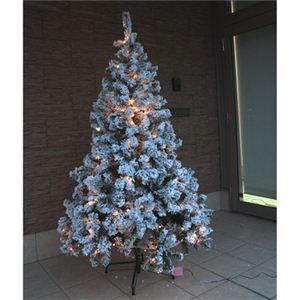 【クリスマス】180cm LEDスノーツリー SL605/6 - 拡大画像
