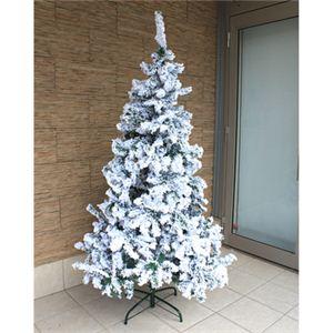 【クリスマス】240cm スノーツリー S630-8