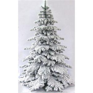 【クリスマス】240cm スノーツリー S649/8 - 拡大画像