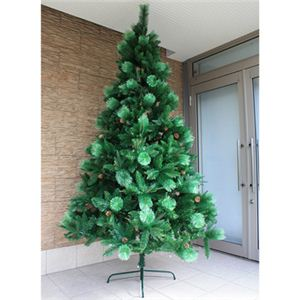 【クリスマス】240cm パインミックスツリー SP607-8 - 拡大画像