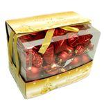 【クリスマス】オーナメントセット 小 レッド D06-282R(レッド)
