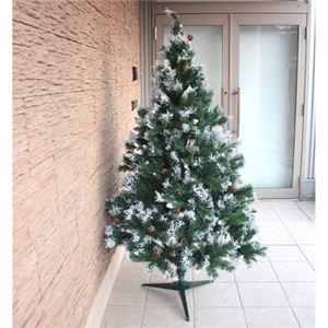 【クリスマス】180cm スノークリスマスツリー XY-005 - 拡大画像