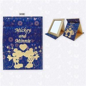 ディズニー ファブリックミラー ミッキーマウス&ミニーマウス DN77362 - 拡大画像