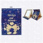 ディズニー ファブリックミラー ミッキーマウス&ミニーマウス DN77362
