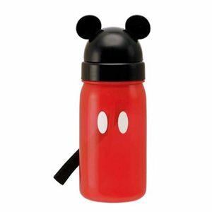 ミッキーマウス ダイカットストロー式ブローボトル350ml pbs3st ミッキー - 拡大画像