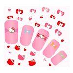 Pink House×キティ ネイルシール イチゴリボン RHKT76200