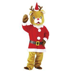 【クリスマスコスプレ】 着ぐるみ用 サンタコスチューム - 拡大画像