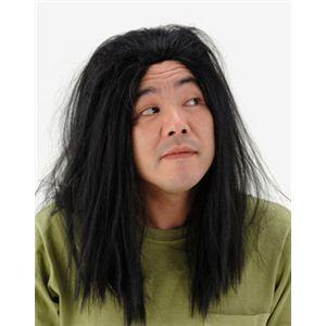 【パーティーグッズ】ボサボサ長髪かつら - 拡大画像