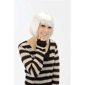 【パーティーグッズ】スウィートボブ(ホワイト) - 拡大画像