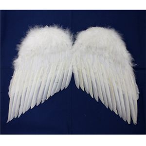 【パーティーグッズ】天使の翼 (M) - 拡大画像