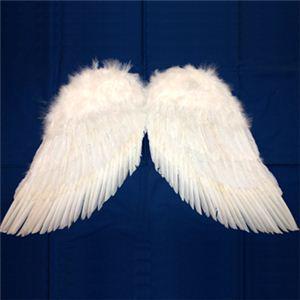 【パーティーグッズ】天使の翼 (LL) - 拡大画像