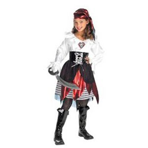 【コスプレ】 disguise Deluxe Child Costumes Pirate Lass (child female) 7-8