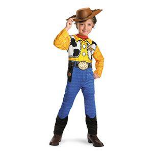 【コスプレ】 disguise Toy Story Woody Classic Child 3T-4T トイストーリー ウッディ 子供用 - 拡大画像