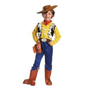 【コスプレ】 disguise Toy Story Woody Deluxe Child 4-6 トイストーリー ウッディ 子供用 - 拡大画像