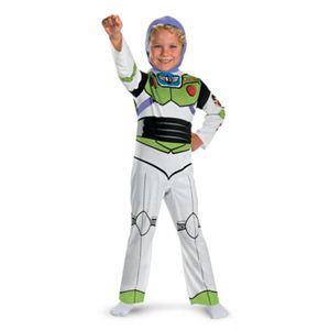 【コスプレ】 disguise Toy Story Buzz Lightyear Classic Child 7-8 トイストーリー バズ・ライトイヤー (キッズ・子供用) - 拡大画像