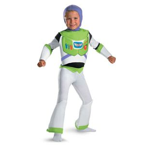 【コスプレ】 disguise Toy Story Buzz Lightyear Deluxe Child 7-8 トイストーリー バズ・ライトイヤー 子供用 - 拡大画像