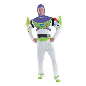 disguise Toy Story Buzz Lightyear Deluxe Adult 50-52 トイトーリー バズ・ライトイヤーの写真1