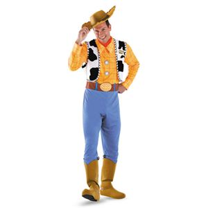 disguise Toy Story Woody Deluxe Adult 42-46 トイストーリー ウッディ