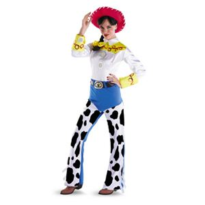 disguise Toy Story Jessie Deluxe Adult 12-14 トイストーリー ジェシー - 拡大画像
