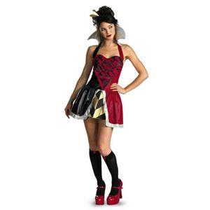 【コスプレ】 disguise Alice in Wonderland Queen of Heart Adult 12-14 ア不思議の国のアリス 女王 - 拡大画像