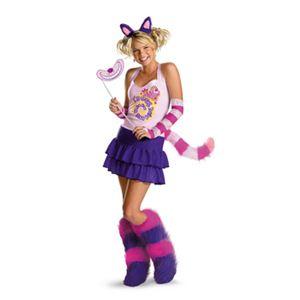 【コスプレ】 disguise Alice in Wonderland The Cheshire Cat Adult 8-10 不思議の国のアリス チシャ猫 - 拡大画像