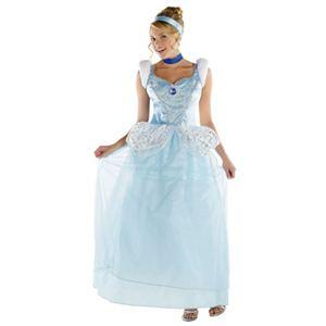 【コスプレ】 disguise Cinderella Cinderella Deluxe Adult 8-10 シンデレラ
